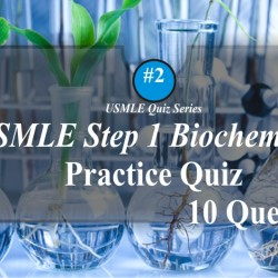 USMLE Biochemistry quiz