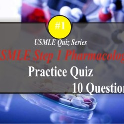 USMLE Pharmacology Quiz