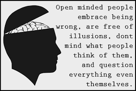 Open Minded people are good leaders