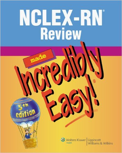 nclex-rn-review-incredibly-easy-5th-edition