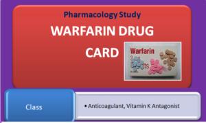 warfarin-drug-card